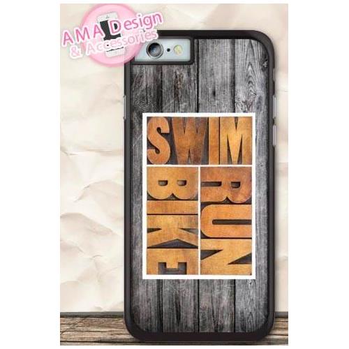 Coque Smartphone Swim-Bike-Run