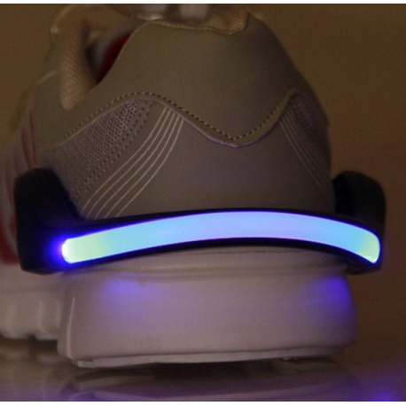 PAck 2 clips lumineux chaussures running