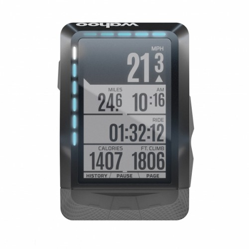Compteur Wahoo Bolt GPS + Pack Cardio TICKR