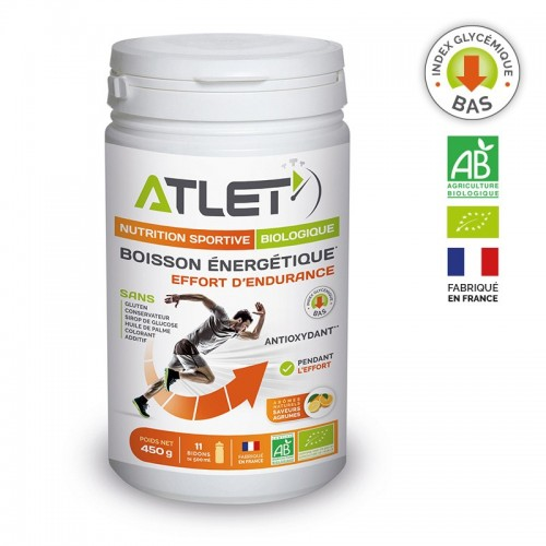 Boisson énergétique Agrumes bio Atlet