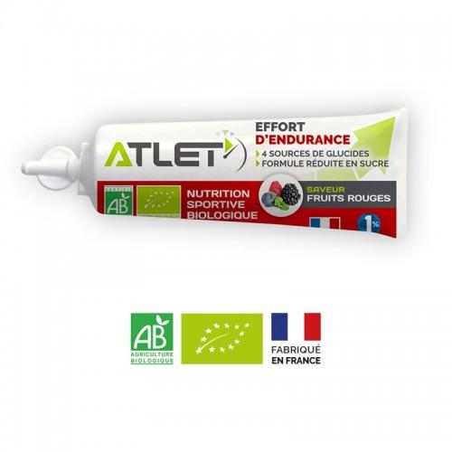 Pac de 10 gels énergétique fruits rouges bio Atlet