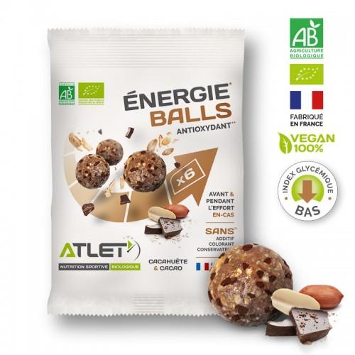 Pack de 5 sachets Energie Balls Atlet nutrition